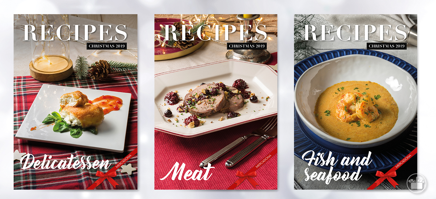We teach you how to prepare meat, fish and appetiser recipes for this Christmas season.