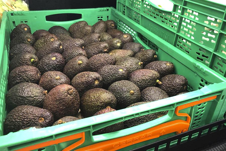 Aguacate disponible en la sección Fruta y Verdura de Mercadona