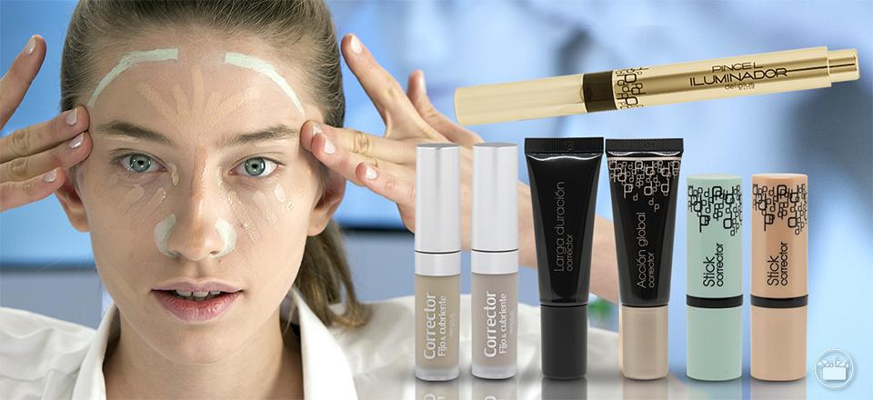 50cc76526 Descubre los diferentes tipos de correctores de maquillaje de Mercadona y  aprende a utilizarlos en este