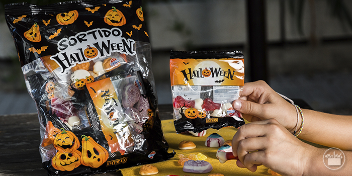 Texto 1 Halloween chocolates chucherias