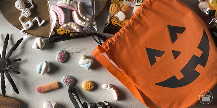 Texto 2 Halloween chocolates chucherias