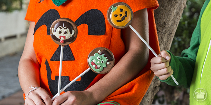 Texto 5 Halloween chocolates chucherias