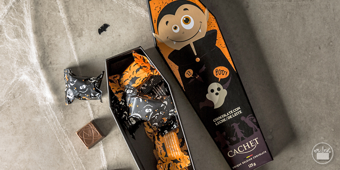 Texto 8 Halloween chocolates chucherias