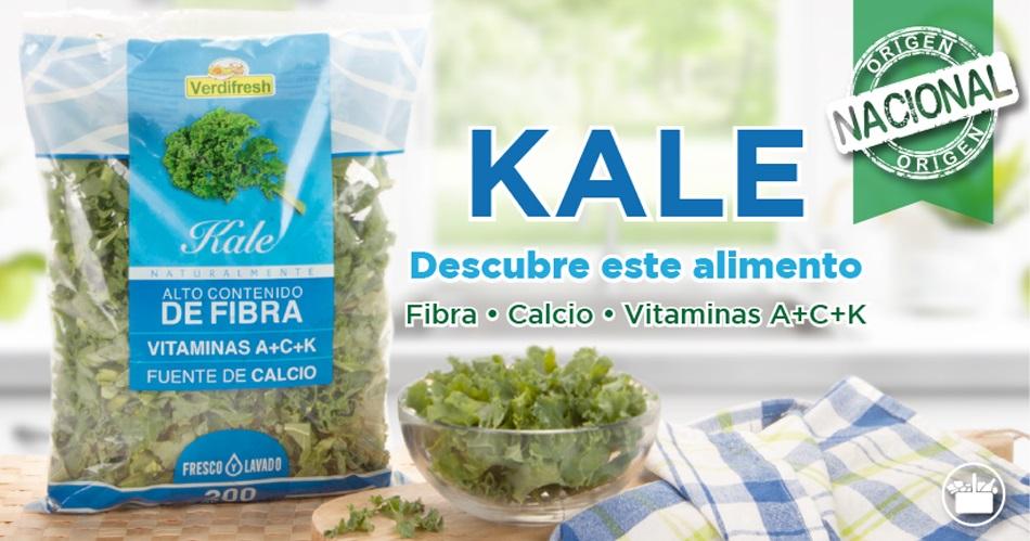 Propiedades nutritivas del Kale