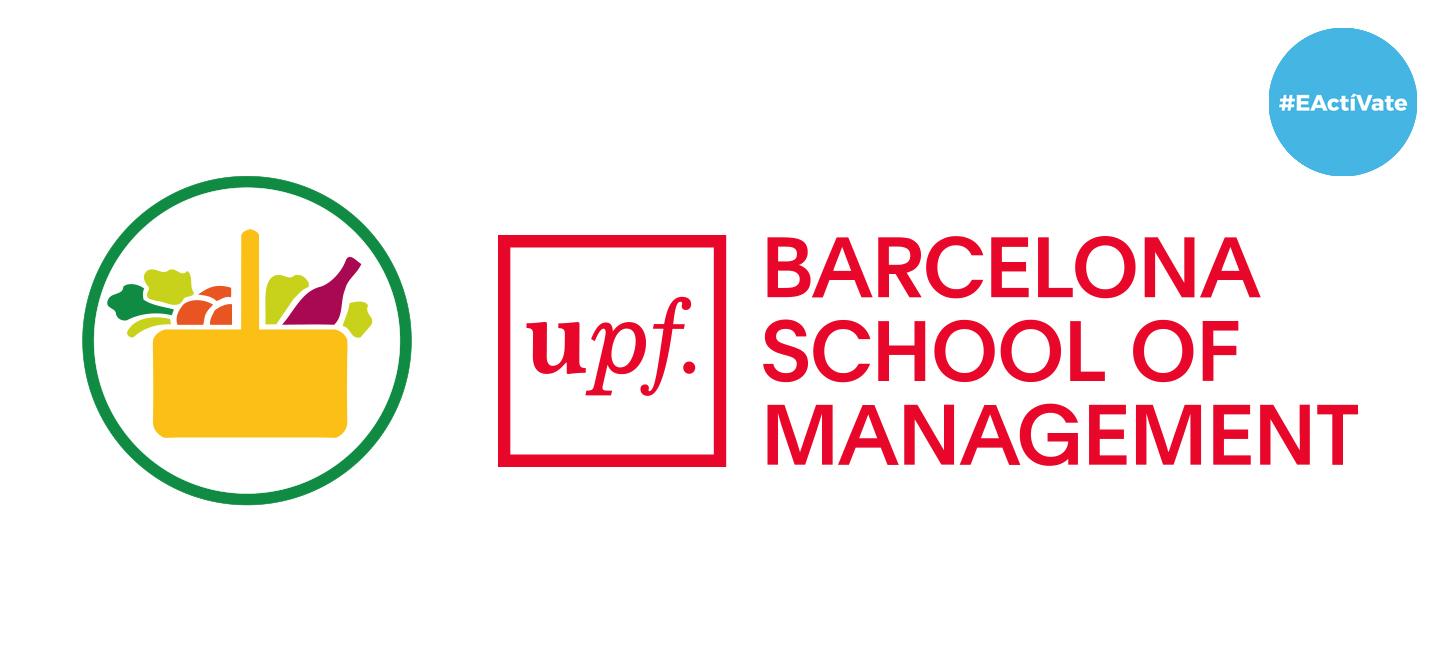Logos Mercadona y la UPF Barcelona School of Management