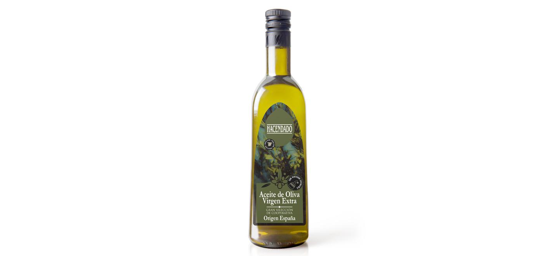 Cadena de carbono de aceite de oliva virgen extra
