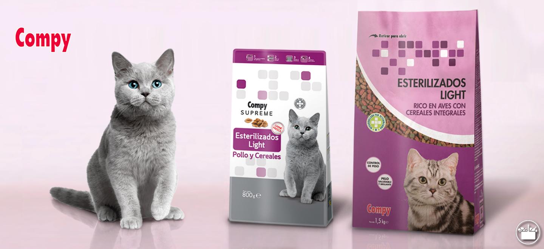 Pienso compy gatos mercadona - Alimento para gatos esterilizados ...