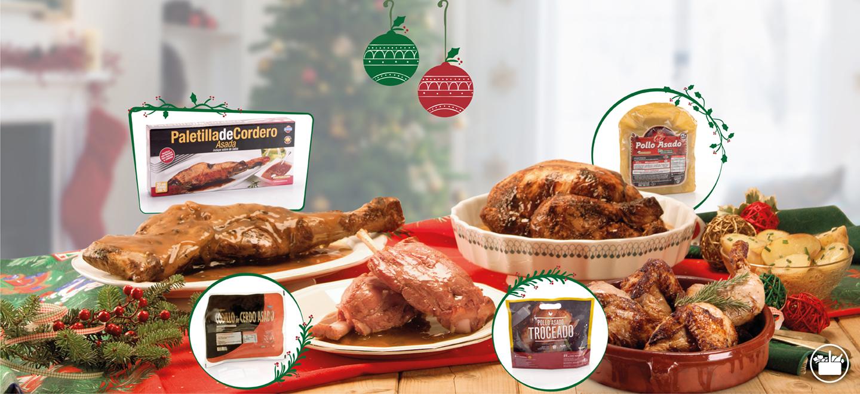 Platos Preparados Asados de Mercadona para Navidad - Mercadona