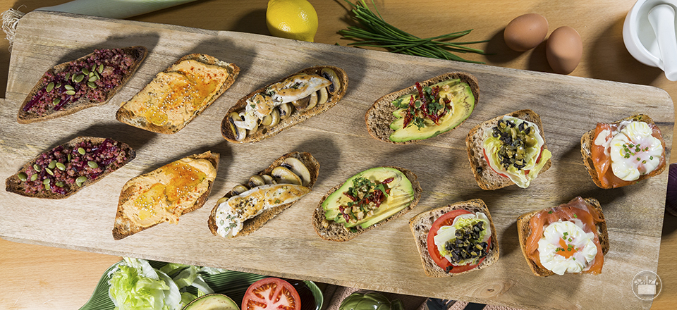 Recetas De Tostas Para Tus Almuerzos Mercadona
